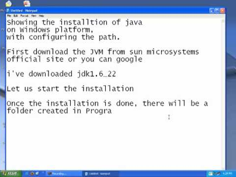 Installing JVM on Windows and Setting Path