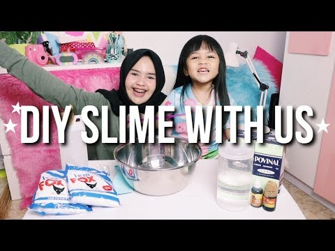 MAKING JUMBO CHOCO SLIME! ft. Maycayla