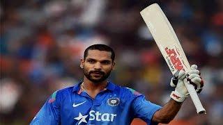 Shikhar Dhawan 126 runs off 113 balls, 14 fours and 2 sixes