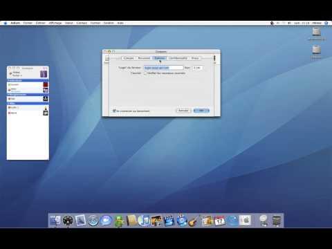 45 • Ajouter un nouveau compte sur Adium • Mac OS X Tiger (tutoriel vidéo)