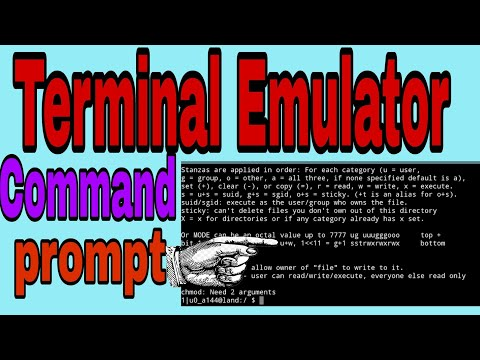 [Tutorial] Terminal emulator Android Full command prompt in Hindi.All hacking command in Android.