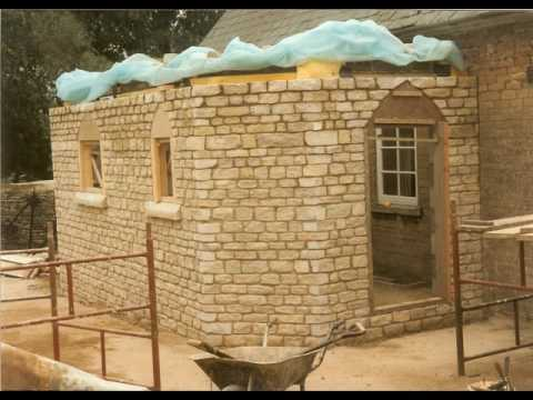 Stone Extension to Grade Two Listed Building in Wadenhoe