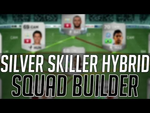 THE 3 WAY HYBRID FULL SILVER SKILL SQUAD | FIFA 14 Ultimate Team Squad Builder (FUT 14) - Best Guide