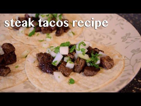 Steak Tacos Recipe | Carne Asada Street Tacos!