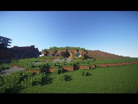 Minecraft: Let's Build - Hobbit House - TIMELAPSE #1