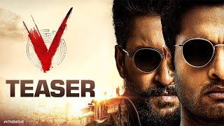 V Teaser - Nani, Sudheer Babu, Nivetha Thomas, Aditi Rao Hydari | Mohan Krishna Indraganti