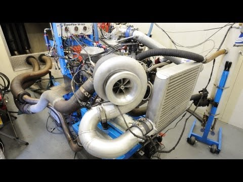 1207hp turbo Windsor - Dandy Engines dyno tuning