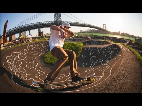 Apex 40 DiamondDrop Longboard in New York City