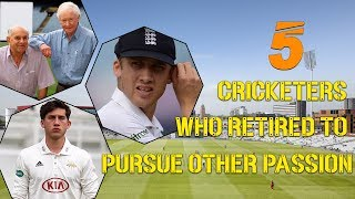 5 Cricketers who Retired to Pursue other passion | Simbly Chumma