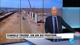1 an de Présidence pour Donald Trump - La Politique migratoire des Etats-Unis