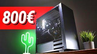 700 - 800€ Euro GAMING PC 2021!! - Test & Zusammenbauen