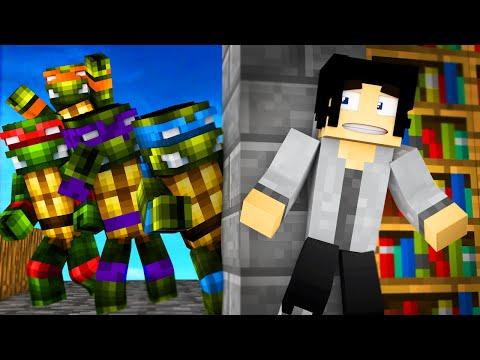 Minecraft - TMNT Hide N Seek! | Teenage Mutant Ninja Turtles In Minecraft