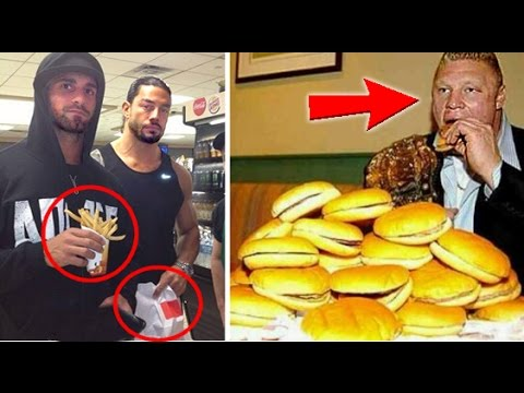 10 Most Shocking Fit WWE Wrestlers Who Love Junk Food