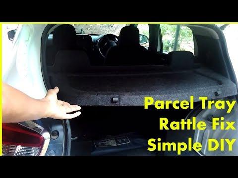 FIX Parcel Shelf Rattling DIY - Renault Kwid - Simple Solution