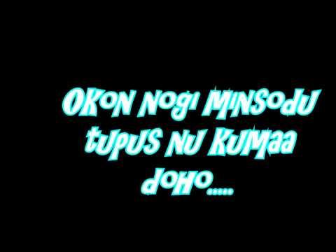 totos ku popogirot lyric on screen