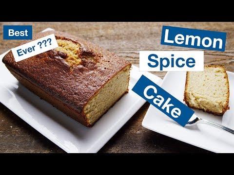 Lemon Spice 'Visiting' Cake     Le Gourmet TV Recipes