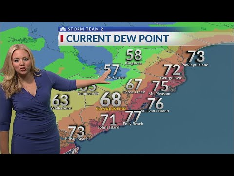 Arielle's short forecast News 2 at 5 p.m.