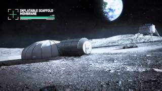 Creating a Lunar Base With 3D Printing Technology | Space Video