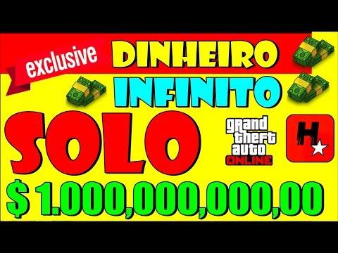 BUG do Dinheiro Infinito💲1 Milhão em 3 minutos GTA V Online💲Solo Money Glitch💲Duplicar Carros