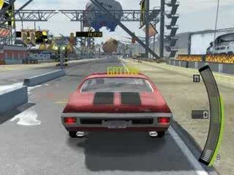 Need for Speed Pro Street Drag 409m Wheelie