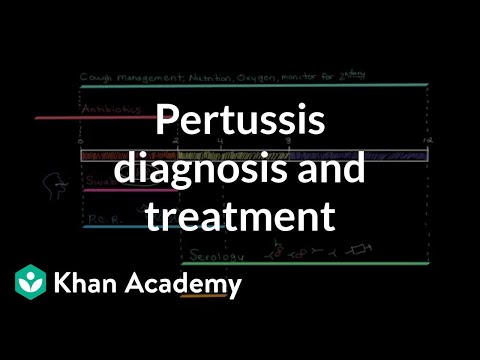 Pertussis diagnosis and treatment | Respiratory system diseases | NCLEX-RN | Khan Academy