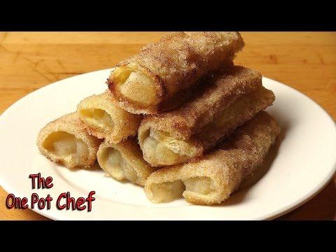 Apple Pie Roll Ups | One Pot Chef
