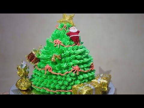 Christmas Tree Cake (Hindi) | Christmas Special | Desi Zaiqa