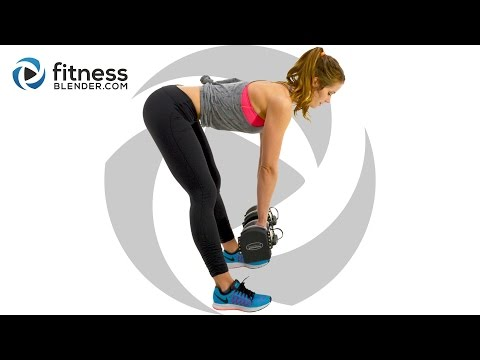 Ultimate Butt and Thigh Workout  - Kelli's Lower Body Workout for People Who Get Bored Easily