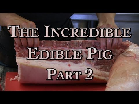 The Incredible Edible Pig Part 2