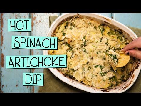 Vegan Hot Spinach Artichoke Dip