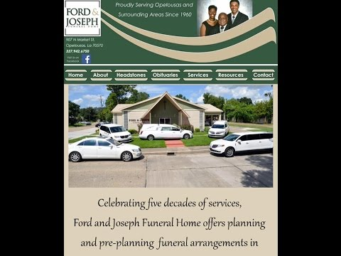 A Special Thank You from Ford & Joseph Funeral Home