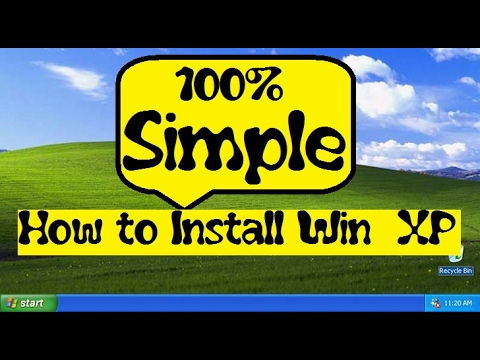 How to Install window XP in Hindi
