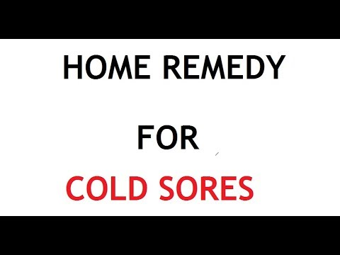 5 Home Remedy for Cold Sores