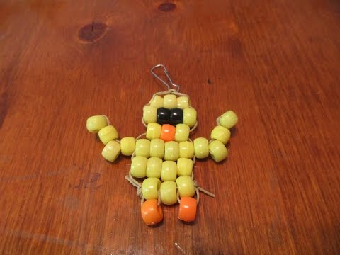 Bead Animal Tutorial: Baby Chick