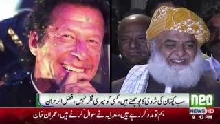 Molana Fazal ur Rehman ka Anokha Shikwa | Neo News