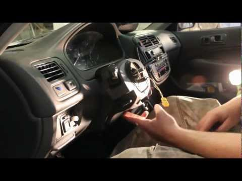 How to Remove Combination Switch: Honda Civic