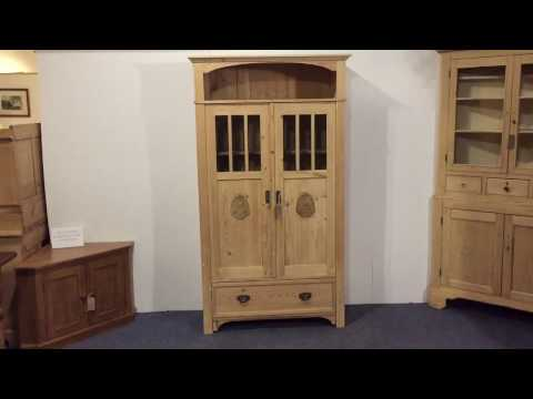 Perfect Antique Bookcase / Storage Display Cabinet For Sale   Pinefinders Old Pine  Furniture Warehouse