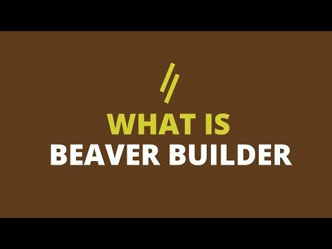 What is Beaver Builder for building websites