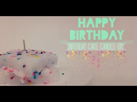 Confetti Cake Candle DIY | Crafty Candles Canada
