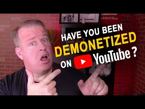 DEMONETIZED?!  Have You Been Demonetized on YouTube?