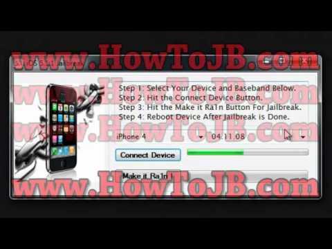 HowTo Iphone ios 5.1.1 Baseband 05.1.16.05 Untethered Jailbreak Free