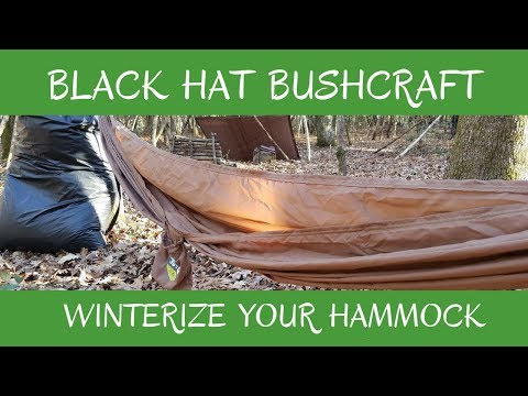 How to Winterize Your Hammock