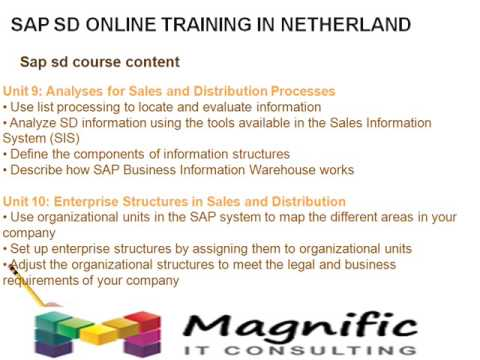 SAP SD ONLINE TRAINING FREE DEMO CLASSES