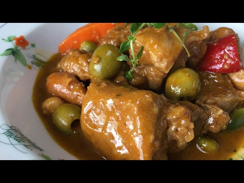 How to Cook Beef Caldereta with gata at peanut butter