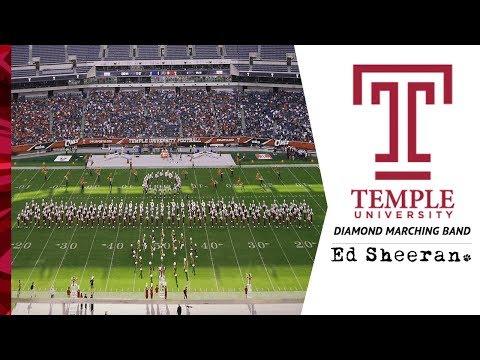 Ed Sheeran Show / DIVIDE / Temple University Diamond Marching Band