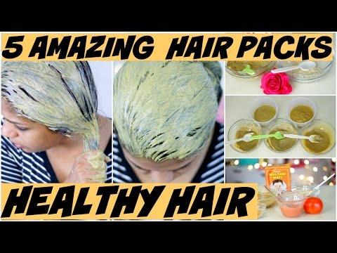 5 Amazing Hair Packs For Oily Hair ,Itchy Scalp,Hair Thinning,Dry Hair,Shiny Hair | SuperPrincessjo