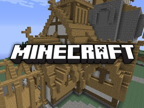 Minecraft Skyrim Build: Whiterun & Dragonsreach!