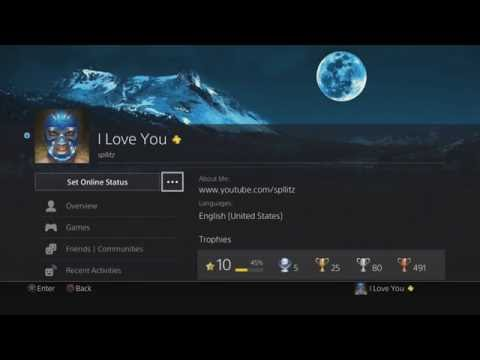 How to Add a Custom Cover Image on your PS4 Profile