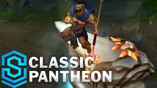 Classic Pantheon, the Unbreakable Spear - Ability Preview - League of Legends