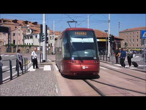 Venezia/Venice-MestreTranslohr tramway - Straßenbahn - Villamos Actv